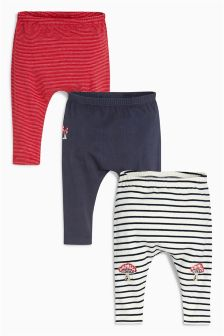 Three Pack Leggings (0mths-2yrs)
