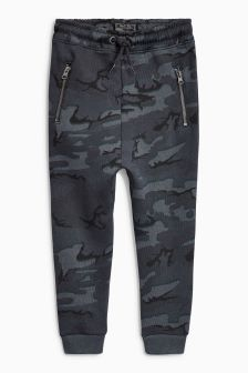 Tapered Leg Drop Crotch Joggers (3-16yrs)