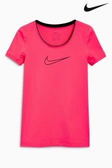 Розовая футболка Nike Pro