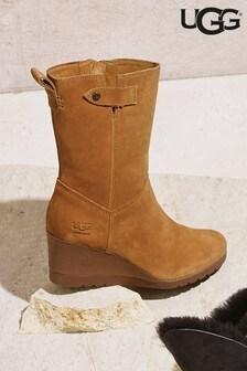 UGG® Potrero Mid Wedge Boots