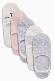 Invisible Trainer Socks Five Pack (Older)