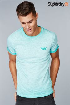 Superdry Fluro Washed T-Shirt