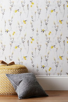 Paste The Wall Eden Floral Wallpaper Sample
