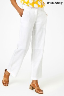 White Stuff Burnwood Wide Leg Trousers