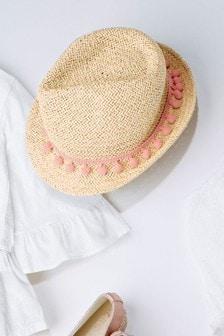 Pom Trilby Hat (Older)