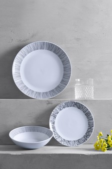 12 Piece Sketch Dinner Set