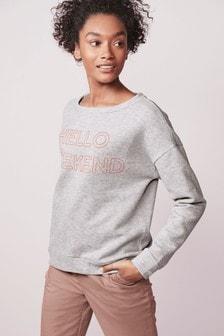 9e39dbe30 Womens Sweat Tops   Ladies Sweatshirts & Sweaters   Next UK