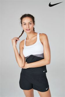 Nike Black And White Crossback Tankini