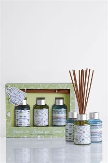 Set of 3 Tea Fragrance 40ml Diffusers
