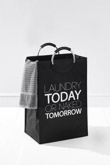 Slogan Laundry Bag