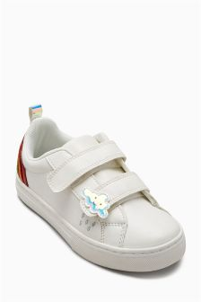Velcro Rainbow Trainers (Younger)