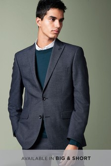 Textured Birdseye Suit