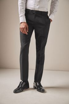 99991f464f Mens Formal Trousers | Formal Plain Front, Tuxedo & Linen Trousers ...