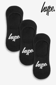 Hype. No Show Socks Three Pack