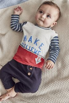 Top And Trousers Two Piece Set (0mths-2yrs)
