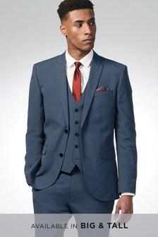 Костюм с застежкой на две пуговицы: пиджак