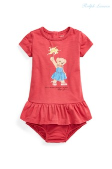Ralph Lauren Red Bear Dress