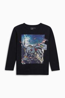 Laser Dino T-Shirt (3-16yrs)