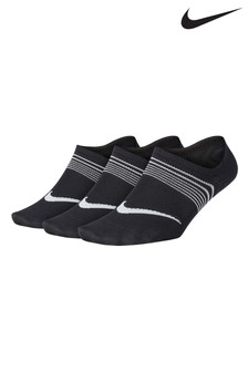 Nike Kids Black Breathable Socks Three Pack