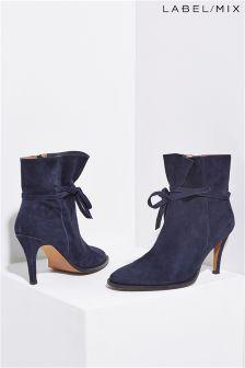Mix/Hudson Sheena Suede Heeled Boot