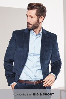 Cord Slim Fit Blazer