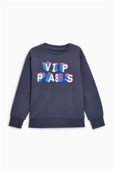 VIP Pass Sweat Top (3-16yrs)