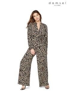 Damsel In A Dress Multi Hannah Animal Print Jumpsuit