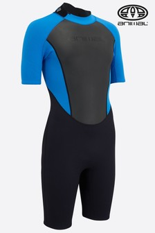 Animal Black Boys Nova Shorty Back Zip Wetsuit