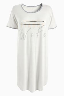Slogan Nightie