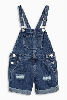 Dungaree Shorts (3-16yrs)