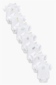 Days Of The Week Bodysuits Seven Pack (0mths-2yrs)