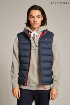 Jack Wills Navy Kershaw Gilet