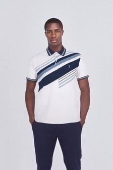 Blocked Polo Shirt
