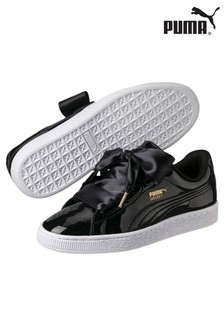 Puma® Basket Heart Patent Trainer