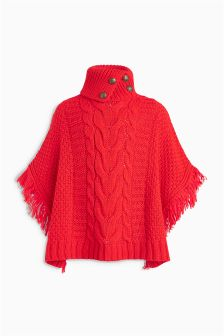 Cable Poncho (3-16yrs)