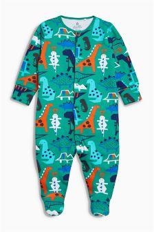 Dinosaur Sleepsuit (0mths-2yrs)