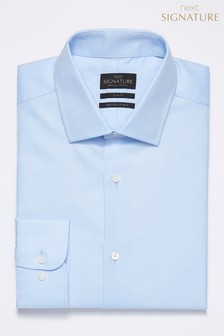 Signature Premium Fabric Textured Slim Fit Shirt