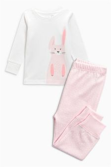 Bunny Snuggle Fit Pyjamas (9mths-6yrs)