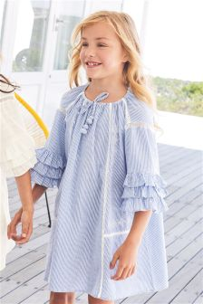 Ruffle Dress (3-16yrs)