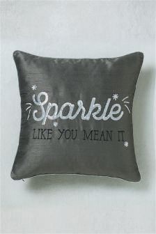 Sparkle Sequin Cushion