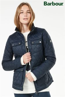 Barbour® Navy Dolostone Quilt Jacket