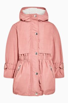 Ruched Parka (3-16yrs)