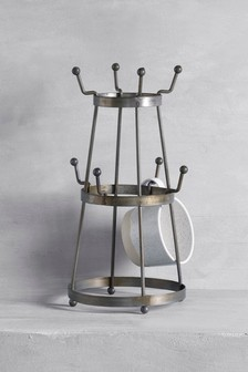 Galvanised Mug Tree