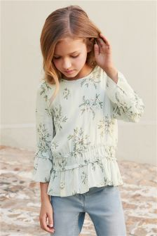 Floral Blouse (3-16yrs)