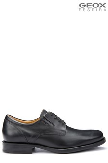 Geox Men's Federico Black Shoe
