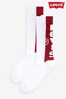 Levi's® Regular Cut Tab Socks Two Pack