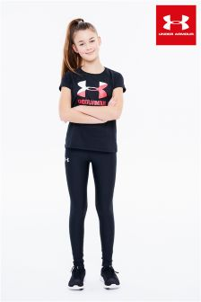 Under Armour Black HeatGear Legging