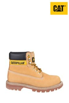 CAT® Lifestyle Yellow Colorado Lace-Up Boots