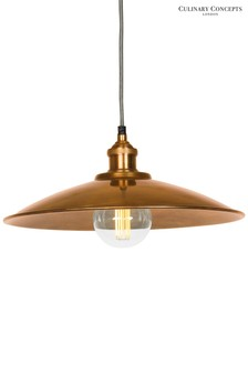 Tapered Moderne Prohibition Pendant