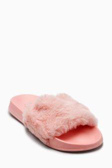 Faux Fur Sliders (Older)